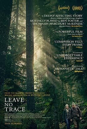 دانلود فیلم دوبله فارسی هیچ ردپایی از خود باقی نگذار Leave No Trace 2018
