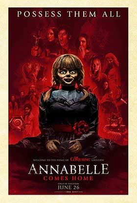 دانلود فیلم آنابل به خانه می آید Annabelle Comes Home 2019