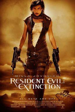 دانلود فیلم زیرنویس فارسی چسبیده رزیدنت اویل انقراض 3 Resident Evil Extinction 2007