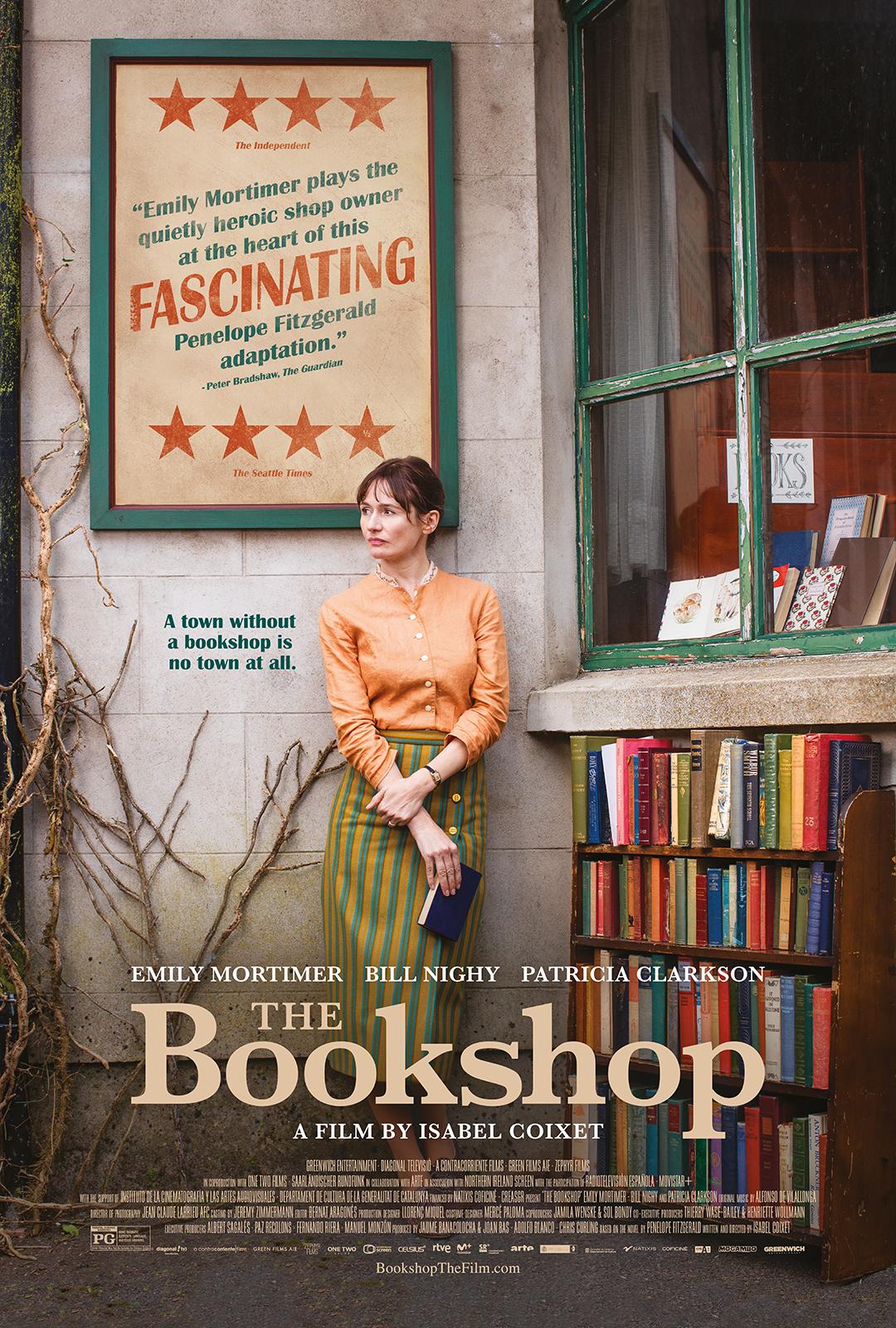 دانلود فیلم دوبله فارسی کتاب فروشی The Bookshop 2017