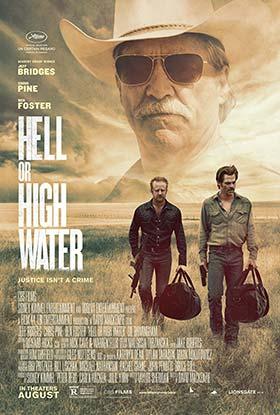 دانلود فیلم اگر سنگ از آسمان ببارد دوبله فارسی Hell or High Water 2016