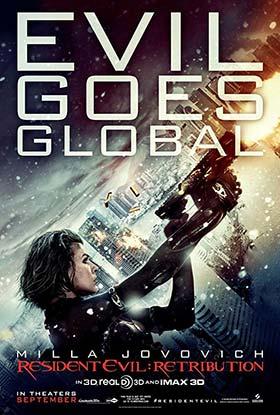 دانلود فیلم زیرنویس فارسی چسبیده رزیدنت ایول 5: قصاص Resident Evil 5 Retribution 2012