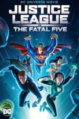 دانلود انیمیشن Justice League vs the Fatal Five 2019 زیرنویس فارسی چسبیده