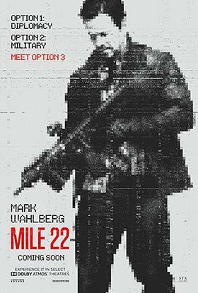 دانلود فیلم دوبله فارسی Mile 22 2018