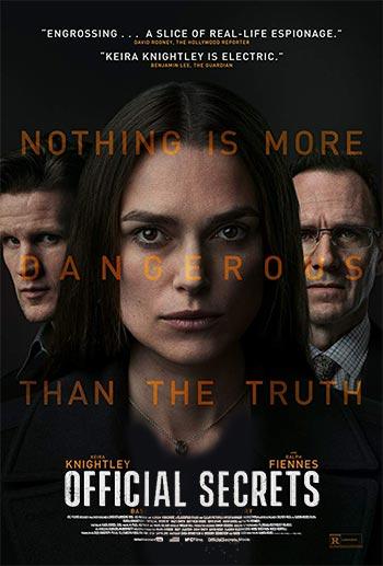 دانلود فیلم زیرنویس فارسی اسرار رسمی Official Secrets 2019