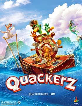 دانلود انیمیشن دوبله فارسی اردک ها Quackerz 2016