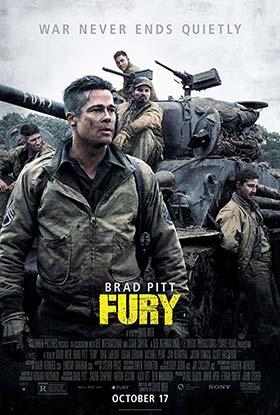 دانلود فیلم دوبله فارسی خشم Fury 2014