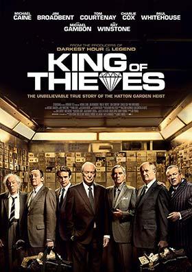 دانلود فیلم پادشاه دزدان دوبله فارسی King of Thieves 2018 زیرنویس فارسی چسبیده