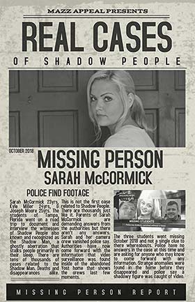 دانلود فیلم Real Cases of Shadow People The Sarah McCormick Story 2019