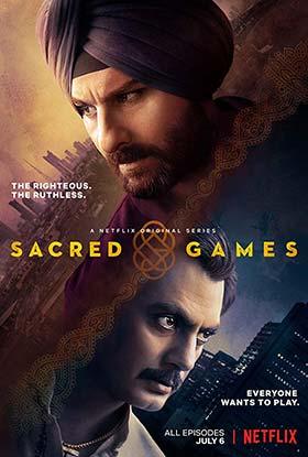 دانلود سریال بازی های مقدس Sacred Games