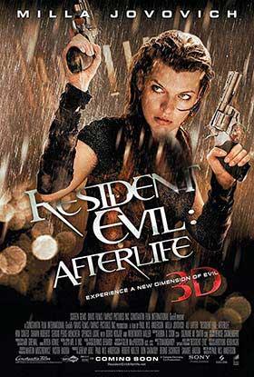دانلود فیلم زیرنویس فارسی چسبیده رزیدنت ایول: زندگی پس از مرگ Resident Evil Afterlife 2010