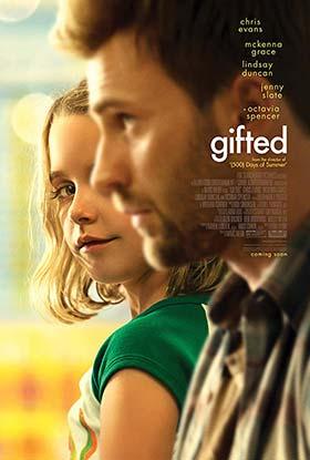 دانلود فیلم زیرنویس فارسی چسبیده استعداد 2017 Gifted