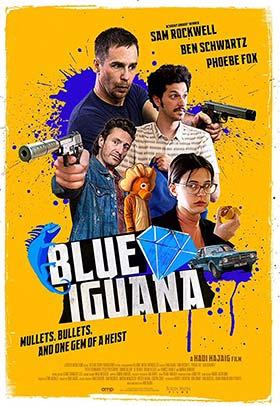 دانلود فیلم دوبله فارسی Blue Iguana 2018
