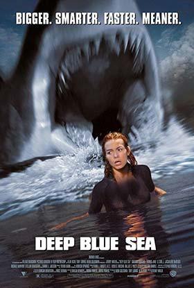 دانلود فیلم دوبله فارسی دریای آبی عمیق Deep Blue Sea 1999