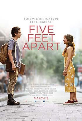 دانلود فیلم Five Feet Apart 2019 زیرنویس فارسی چسبیده