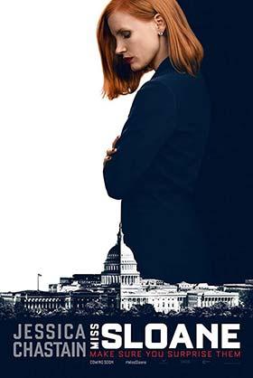 دانلود فیلم زیرنویس فارسی چسبیده دوشیزه اسلون Miss Sloane 2016