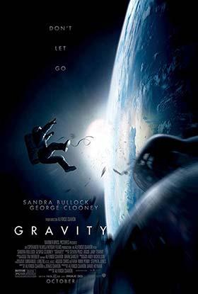 دانلود فیلم دوبله فارسی جاذبه زمین Gravity 2013 زیرنویس فارسی