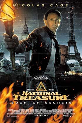 دانلود فیلم دوبله فارسی National Treasure Book of Secrets 2007 زیرنویس فارسی چسبیده