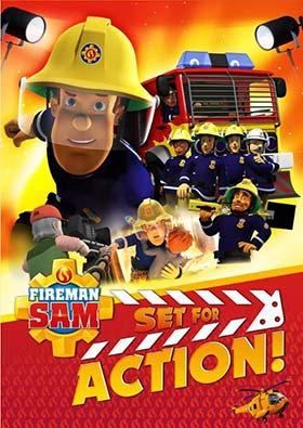 دانلود انیمیشن سم آتش نشان Fireman Sam Set for Action 2018