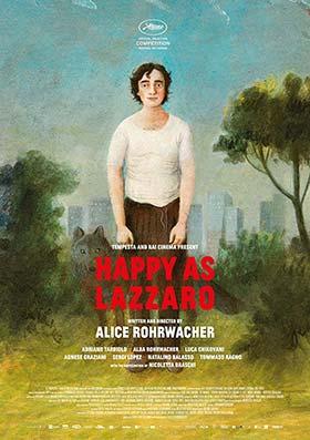 دانلود فیلم شادی لازارو Happy as Lazzaro 2018 زیرنویس فارسی