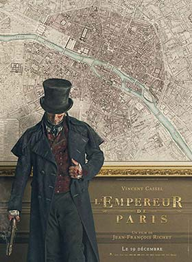 دانلود فیلم The Emperor of Paris 2018 زیرنویس فارسی چسبیده