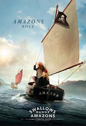 دانلود فیلم دوبله فارسی ماجراجویان جزیره Swallows And Amazons 2016