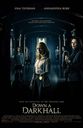دانلود فیلم زیرنویس فارسی چسبیده انتهای دالانی تاریک Down A Dark Hall 2018