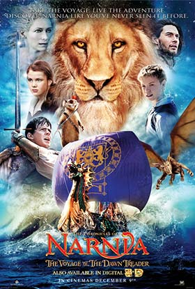 دانلود فیلم دوبله فارسی The Chronicles of Narnia: The Voyage of the Dawn Treader 2010
