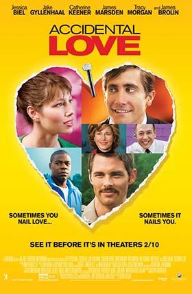 دانلود فیلم زیرنویس فارسی چسبیده عشق تصادفی Accidental Love 2015