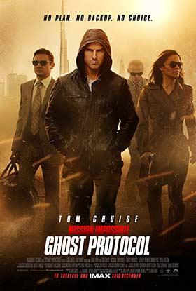 دانلود فیلم دوبله فارسی ماموریت غیر ممکن ۴ Mission: Impossible – Ghost Protocol 2011 زیرنویس فارسی چسبیده