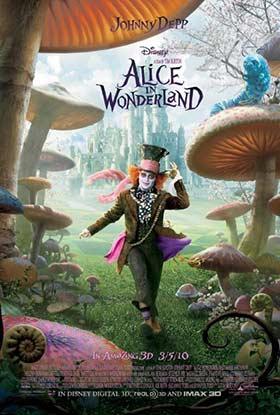 دانلود فیلم دوبله فارسی Alice in Wonderland 2010