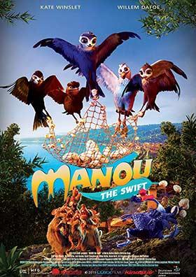 دانلود انیمیشن زیرنویس فارسی چسبیده Manou The Swift 2019