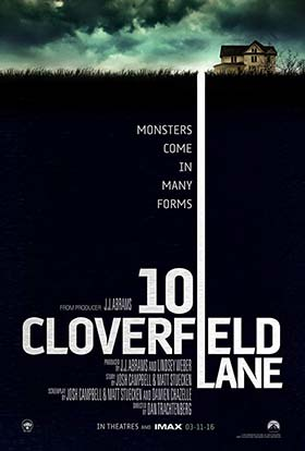 دانلود فیلم ۱۰ Cloverfield Lane 2016