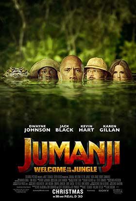 دانلود فیلم دوبله فارسی جومانجی به جنگل خوش امدید Jumanji Welcome to the Jungle 2017 زیرنویس فارسی چسبیده