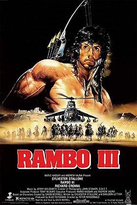 دانلود فیلم دوبله فارسی رامبو ۳ Rambo III 1988 زیرنویس فارسی چسبیده