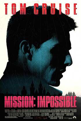 دانلود فیلم دوبله فارسی ماموریت غیر ممکن ۱ Mission: Impossible 1996 زیرنویس فارسی چسبیده
