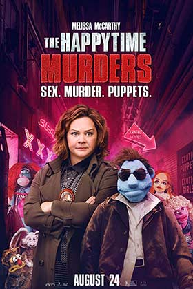 دانلود فیلم دوبله فارسی قتل در ساعت خوش The Happytime Murders 2018 زیرنویس فارسی چسبیده