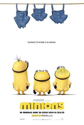دانلود انیمیشن دوبله فارسی مینیونها Minions 2015