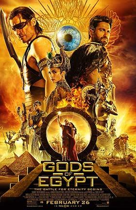 دانلود فیلم Gods of Egypt 2016