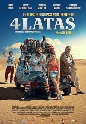 دانلود فیلم Four Latas 2019