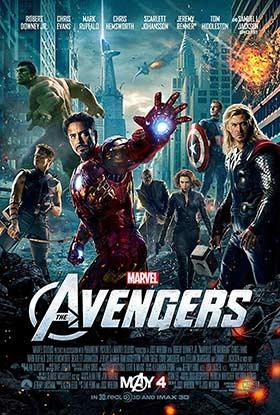 دانلود فیلم دوبله فارسی انتقام جویان The Avengers 2012 زیرنویس فارسی چسبیده