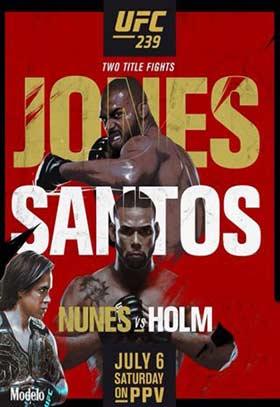 دانلود مراسم ورزشی UFC 239 Jones vs Santos 2019