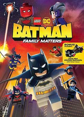 دانلود انیمیشن LEGO DC Batman Family Matters 2019