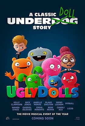 دانلود انیمیشن زیرنویس فارسی چسبیده UglyDolls 2019
