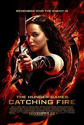 دانلود فیلم دوبله فارسی The Hunger Games: Catching Fire 2013 زیرنویس فارسی چسبیده