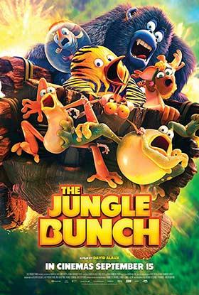 دانلود انیمیشن دوبله فارسی The Jungle Bunch 2017