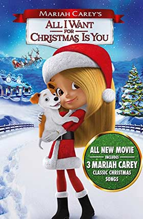 دانلود انیمیشن دوبله فارسی All I Want for Christmas Is You 2017