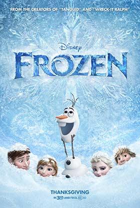 دانلود انیمیشن دوبله فارسی Frozen 2013