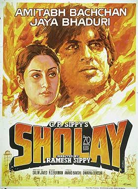 دانلود فیلم دوبله فارسی Sholay 1975
