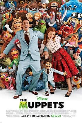 دانلود فیلم دوبله فارسی ۲۰۱۱ The Muppets زیرنویس فارسی چسبیده